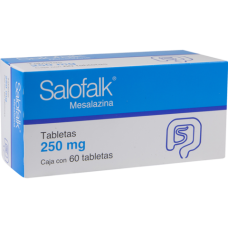 Salofalk 250mg. 60 tablets