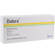 Dabex 850mg. 30 tablets