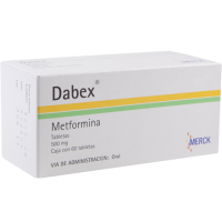 Dabex 500mg. 60 tablets