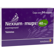 Nexium Mups 40mg. 14 tablets