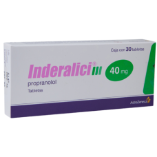 Inderalici 40mg. 30 tablets