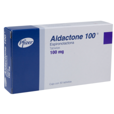 Aldactone 100mg. 30 tablets