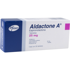 Aldactone 25mg. 30 tablets