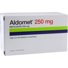 Aldomet 250mg. 50 tablets