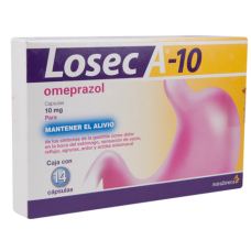 What is losec tablets used for