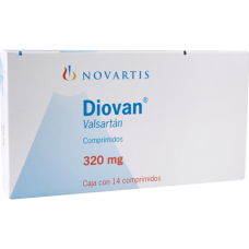 Diovan 320mg. 14 tablets