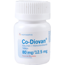 Co-Diovan 80mg./12.5mg 30 tablets