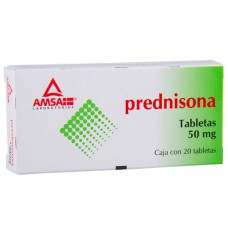 Prednisone 50mg. 20 tablets