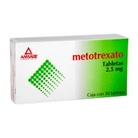 Methotrexate Generic 2.5mg. 50 tablets