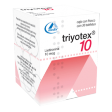 Triyotex 10mcg 30 Tablets